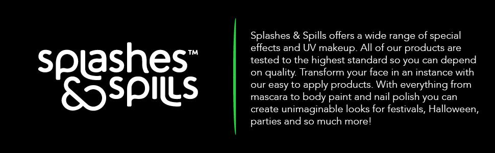 Splashes and spills brand