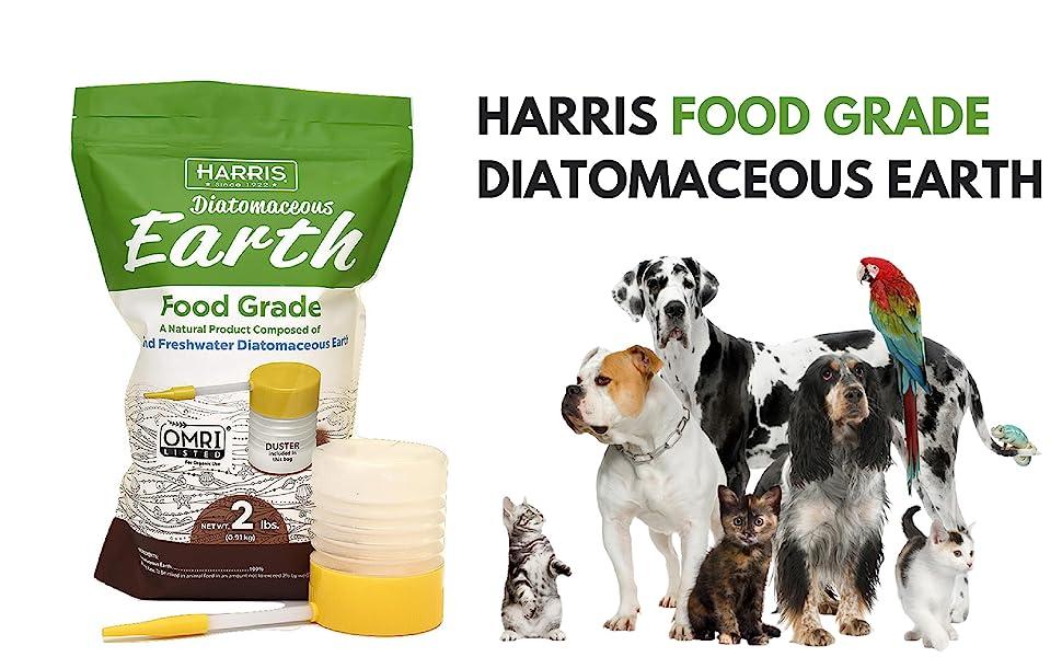 Amazon.com: Harris tierra de diatomeas de grado alimentario ...