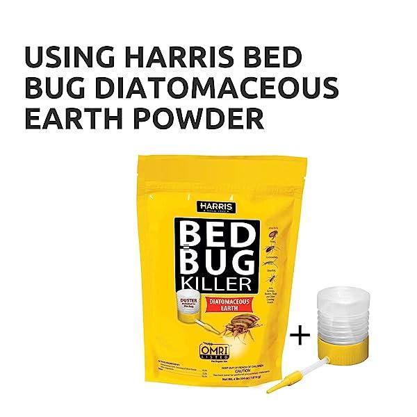 Amazon Com Harris Bed Bug Killer Diatomaceous Earth