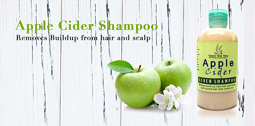 Amazon.com : Apple Cider Vinegar Renew Shampoo - Removes