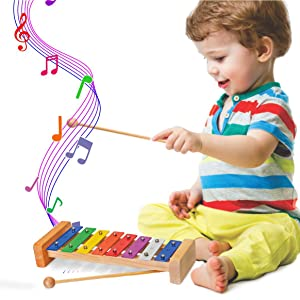 Educational toy xylophone toy for boys girls babies toddlers children kids play music musical toys