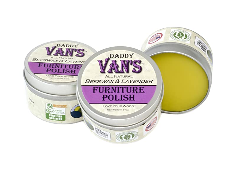 Daddy Vanu0027s All Natural Beeswax U0026 Lavender Furniture Polish