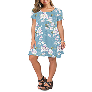 womens t shirt dress summer