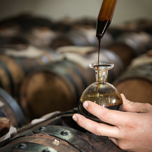 balsamic vinegar of modena italy aged in barrels of balsamic wood aged slowly acetaia