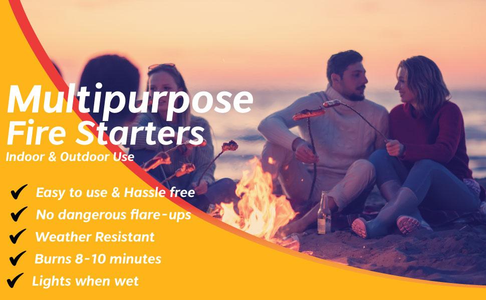Fire Starter Indoor Outdoor Campfire Beach