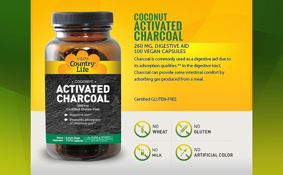 charcoal digestion aid