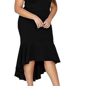 Plus Size Midi Dress. Plus Size Wedding Dress
