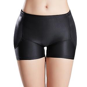 b8b74767316 AICONL Womens Tummy Control Hip Enhancer Panty Underwear Pads Butt ...