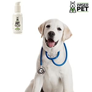 Wiser Pet natural hip and joint supplement for dogs. Approved by vets