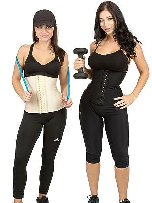 0254023c2f9 Amazon.com  Luxx Curves Luxx Health Waist Trainer Corsets Women ...