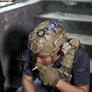 Helmet Net Cover for Army Green Camouflage Net Helmet Cover Cap Practical GA