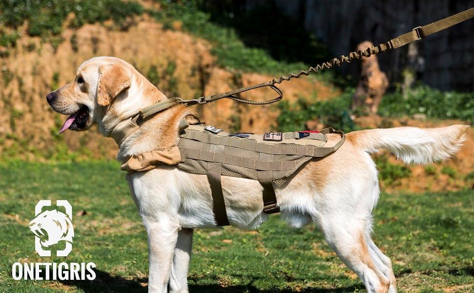OneTigris K9 Muscle Arn/és para perros M, Coyote marr/ón