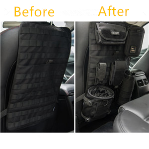 Amazon.com: OneTigris Car Seat Back Organizer, Tactical MOLLE ...