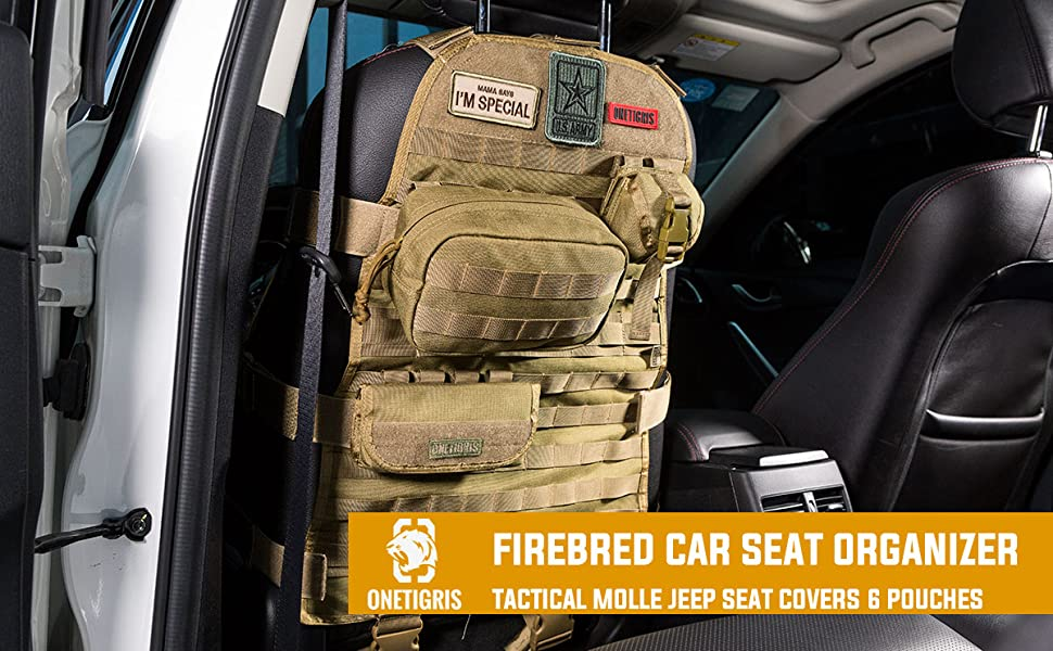 WHY CHOOSE IRONCLAD CAR SEAT BACK TACTICAL MOLLE ORGANIZER