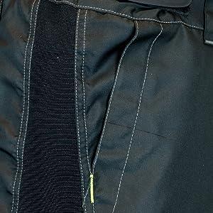 Magnet Secured Pockets