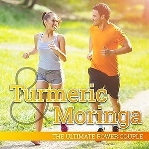 turmeric and moringa supplement, vegetarian capsules, curcumin, couple runing, joint pain relief