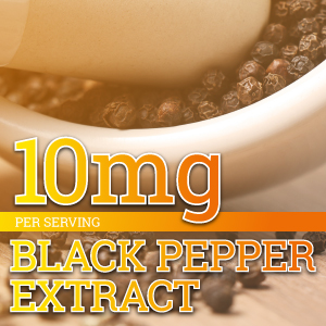 Black Pepper Extract better absorption turmeric curcumin potency joint pain relief