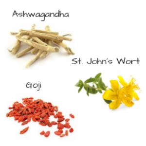 st johns wort goji ashwagandha