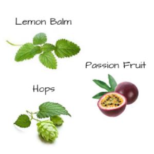 lemon balm passion fruit hops pastillas para dormir rapido