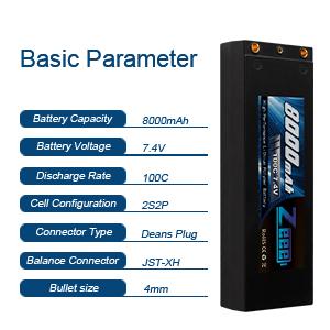 Zeee rc car battery