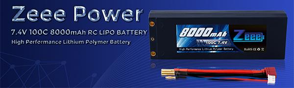 Zeee 7.4v lipo battery