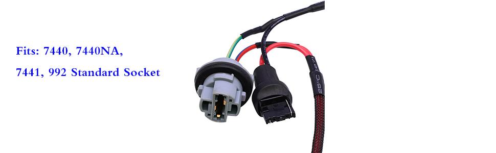 7440 50w 6ohm load resistor