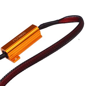 50w 6ohm Load Resistors - Fix LED Bulb Fast Hyper Flash Turn Signal Blink Error Code