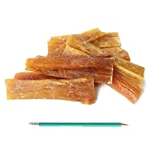 beef tendons backstrap chews supercan super can bully sticks tendons made in usa