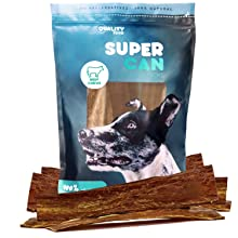 beef jerky strips 12 inch joint support healthy nutritious grain free ow carb dog treats made in usa