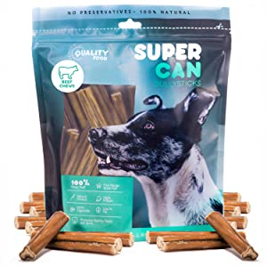 5 inch junior thin bully sticks small dog treats grain free no chemicals chews all natural pups