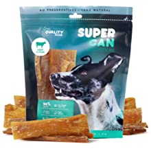 super can supercan bully sticks beef tendons 6 inch dog treats chews