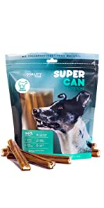 6 inch Standard Size Bully sticks odor free grain free low carb organic best bully sticks made in us