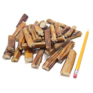 Bully bites for dogs small dog chews healthy snacks treats all natural made in usa best bully sticks