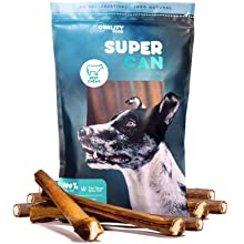 supercan bully sticks super can bully stciks mega monster bully stciks odor free chews treats dogs