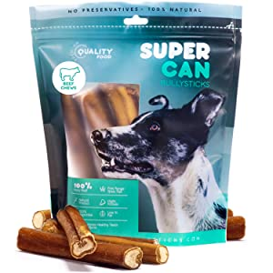 jumbo 6 inch bully sticks for dogs made in usa cews and treats made in usa for dogs natural dog food