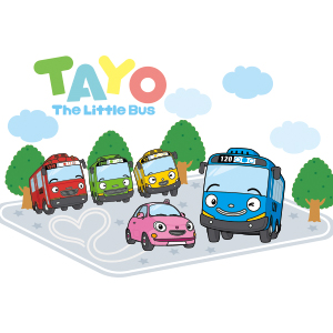 Tayo Song and Sound Flash Cards