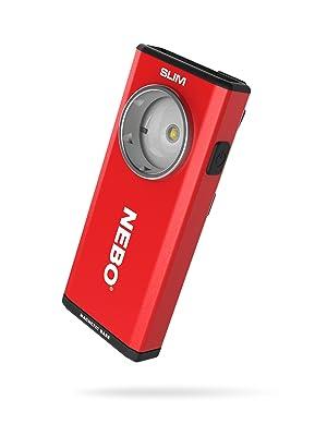 rechargeable led work light, flashlight, nebo slime rechargeable flashlight, pocket light, nebo