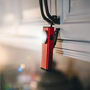 nebo 500 led flashlight, led flashlight with magnetic base, ridgid led lights, nebo pink, 6694