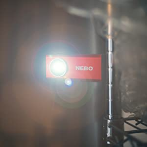 500-lumen led cob work flashlight, rechargeable light long, clip on rechargeable work light
