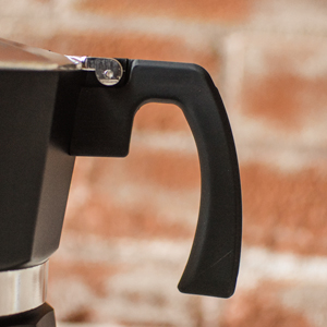 GROSCHE milano black product features soft burn guard handle