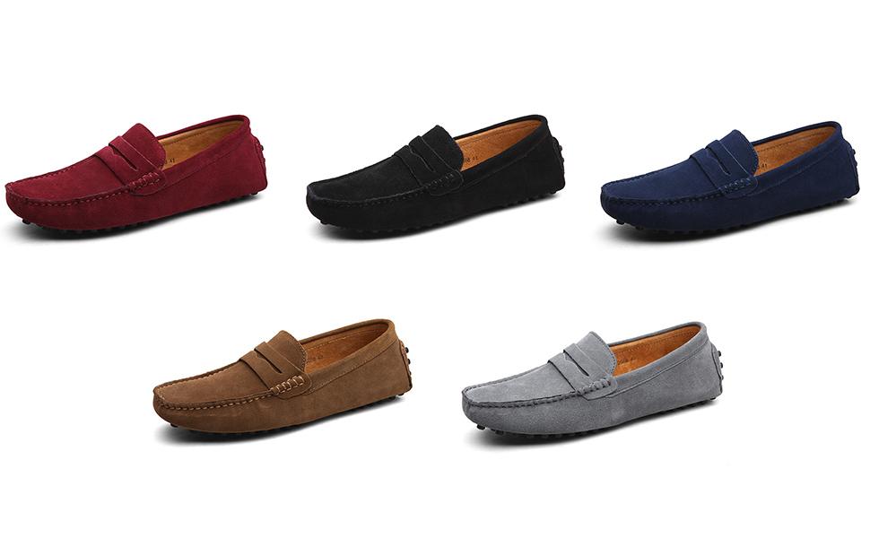 a35b1fc2bb232e black grey khaki blue red mens loafers