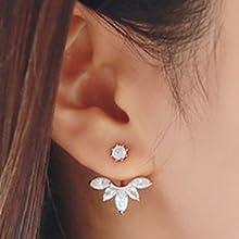 lotus flower ear jacket