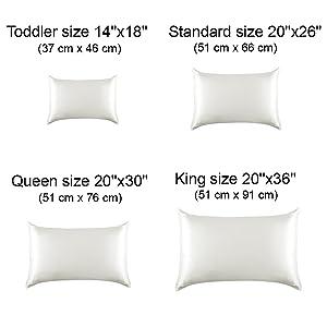 Amazon Com Alaska Bear Natural Silk Pillowcase For Hair