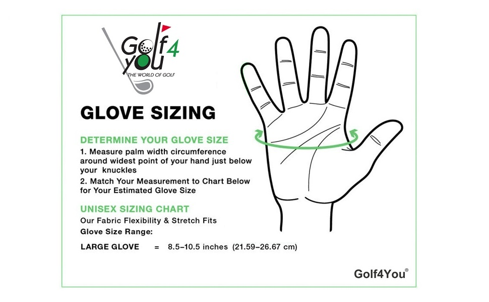 New Premium Golf Glove My Glove Fit Natural Fit Technology Made From Long Lasting Durable Genuine Multidirectionnal Cabretta Leather Size L For
