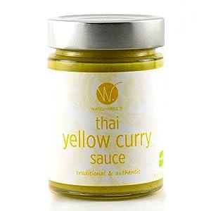 Amazon.com : WATCHAREE'S Thai Green Curry Sauce | Non-GMO