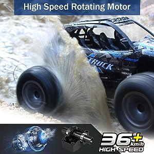 high speed rotating motor