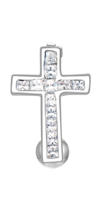 cross belly ring reverse