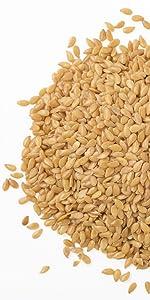 flax, food to live