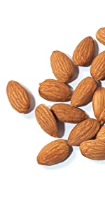 almonds, food to live