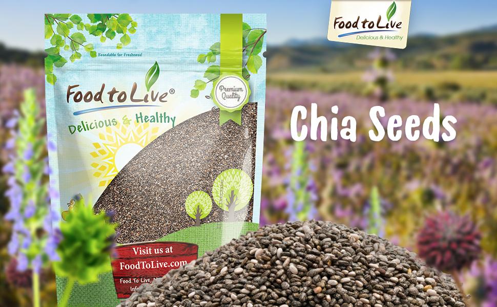 Alimentos para semillas de chia viva (Kosher): Amazon.com ...